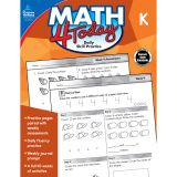 Math 4 Today Workbook, Grade K, Pack of 3