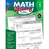 Math 4 Today Workbook, Grade 1