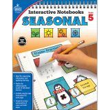 Interactive Notebooks: Seasonal Resource Book, Grade 5