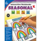 Interactive Notebooks: Seasonal Resource Book, Grade K