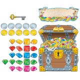 Big Treasure Chest Bulletin Board Set, 2 Sets