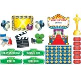 Lights, Camera, Action! Bulletin Board Set, 52 Pieces