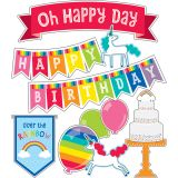 Hello Sunshine Birthday Mini Bulletin Board Set, 3 Sets