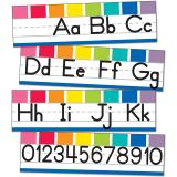 Hello Sunshine Alphabet Line: Manuscript Mini Bulletin Board Set