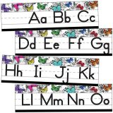 Woodland Whimsy Alphabet Line: Manuscript Mini Bulletin Board Set, 3 Sets