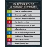 10 WAYS TO BE A GOOD STUDENT  CHARTLET GR 1-5