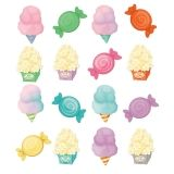 TREATS MINI CUTOUT GR PK-5  ASSORTED