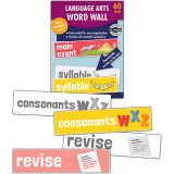 Language Arts Word Wall, Grade K, 3 Packs
