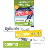 Language Arts Word Wall, Grade 1, 3 Packs