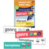 Language Arts Word Wall, Grade 2, 3 Packs