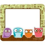 OWLS NAME TAGS - 40PK