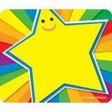 RAINBOW STAR NAME TAGS
