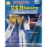 JUMPSTARTERS FOR US HISTORY GR 4-8  RESOURCE BOOK