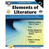 COMMON CORE ELEMENTS OF LITERATURE  BOOK GR 6-8