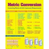 CHART METRIC CONVERSION CHART