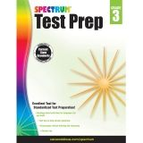 SPECTRUM TEST PREP GR 3 WORKBOOK
