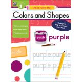 Colors and Shapes Activity Book, Grade Preschool-2