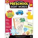 Words to Know Sight Words, Grade Preschool, Pack of 2