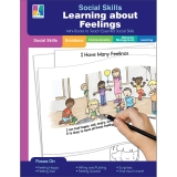 Social Skills Mini-Books Learning about Feelings Resource Book, Grade PK-2, Paperback