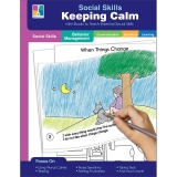 Social Skills Mini-Books Keeping Calm Resource Book, Grade PK-2, Paperback