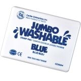 JUMBO STAMP PAD BLUE WASHABLE