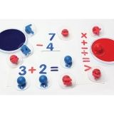 READY2LEARN GIANT MATH SIGNS STAMPS  SET OF 6