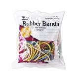 RUBBER BANDS ASST COLORS 1 3/8 OZ  BAG
