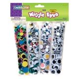 Creativity Street Wiggle Eyes, Assorted Colors, Assorted Sizes, 500 Pieces