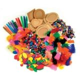 Creativity Street Papier Mache, Assorted Colors, Assorted Sizes, 1 Kit