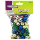 "Creativity Street Jingle Bells, Multi-Color, 0.625"", 72 Count"