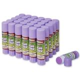 Creativity Street Glue Sticks, Purple, 0.28 oz., 30 Count