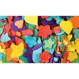 "Creativity Street Wood Party Shapes, Wood Party Shapes, 1/2"" to 2"", 200 Pieces"