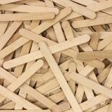 "Creativity Street Regular Craft Sticks, Natural, 4.5"" x 3/8"", 150 Pieces"
