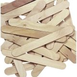 "Creativity Street Jumbo Craft Sticks, Natural, 6"" x .75"", 100 Pieces"