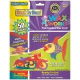 "Creativity Street Wax Works, Bright Hues Assorted, 10"", 50 Pieces"