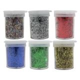 Spectra Glitter Assortments, 6 Assorted Colors