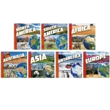 INVESTIGATING CONTINENTS BOOKS 7/ST