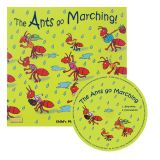 (3 ST) THE ANTS GO MARCHING CLASSIC BOOKS WITH HOLES PLUS CD