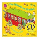 THE WHEELS ON THE BUS 8X8 BOOK WITH  CD