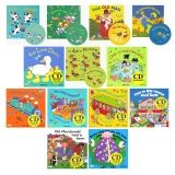 Songs and Rhymes Collection Set with CDs, Set of 13