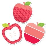 APPLES 3IN CUT OUTS PAINTED PALETTE
