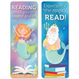 Mystical Magical Mermaid Tales Bookmarks, 30 Per Pack, 6 Packs