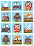 WODDLAND FRIENDS REWARDS STICKERS