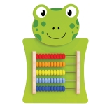 Abacus Activity Wall Panel, Frog
