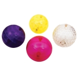 Sensory Flashing Balls Large Texture, 4-Piece Set