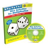 Dice Activities for Multiplication Book & CD