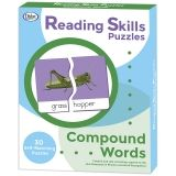 Reading Skills Puzzles, Compound Words