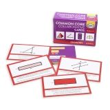 Common Core Collaborative Cards, Geometry, Grades 6-8, Set of 120