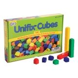 UNIFIX Cubes for Pattern Building, 240 Per Pack