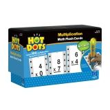 Hot Dots Multiplication Flash Card Set (Facts 0-9)